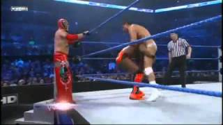 WWE Smackdown 21/12/10 - Rey Mysterio & Kofi Kingston vs Alberto del Rio & Jack Swagger (HQ)