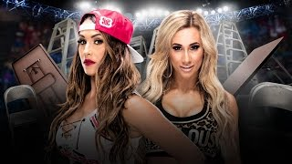 WWE ''TLC'' 2016 - Nikki Bella vs Carmella