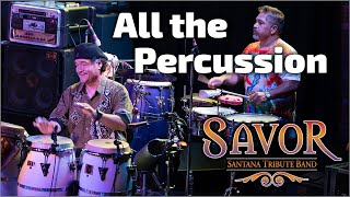 Tribute to Santana | All the Percussion