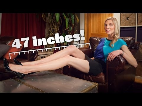 New York's Longest Legs: Meet Brooke Banker