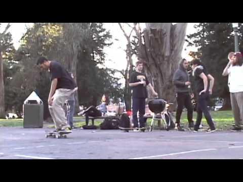 Skaters: Zac Curran, Mark Nicholson, Shane McKenzie, Christian Oliva, James Ryan, Sean Carabarin, Ron Rodriguez, Ian Brunkow, Robin Baker, Travis Knapp-Prase...