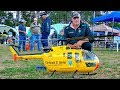 STUNNING BO-105 RC SCALE MODEL TURBINE HELICOPTER FLIGHT DEMONSTRATION