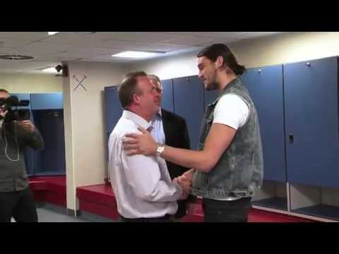 Andy Carroll surprises Season Ticket Holder