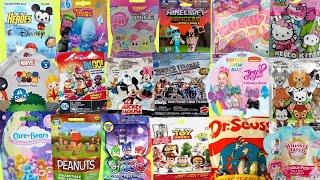 20 Blind Bags Opening Toy Surprises Mickey Mouse PJ Masks Disney Shopkins Smooshy Mushy Trolls Hello
