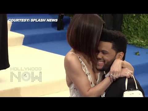 Selena Gomez & The Weeknd KISS At The 2017 Met Gala thumbnail