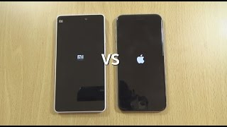 Xiaomi Mi 4i VS IPhone 6 - Speed & Camera Test!