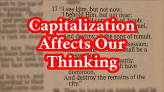Video: Capital letters in English translation of Old Testament Bible may be confusing - RTC