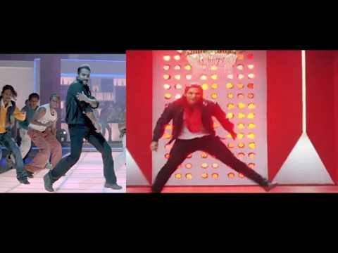 NTR & Allu Arjun Dances