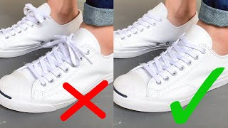 HIDE Your Laces Like A Pro | Super Clean Look