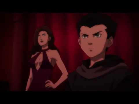 Розговор Бэтмена и Талии Аль Гул на яхте (Сын Бэтмена 2014)