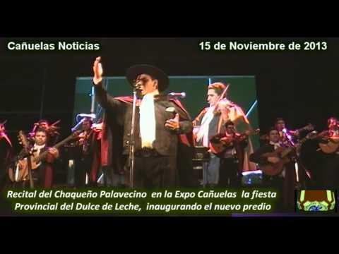 El Chaqueño Palavecino en la Expo Cañuelas la Fiesta del Dulce de Leche, 15 de noviembre de 2013