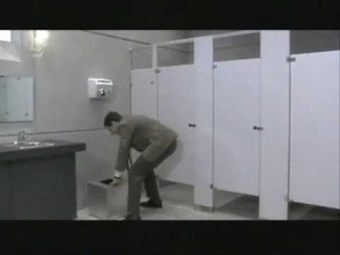 Mr. Bean a toaletten