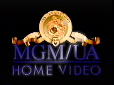 MGM/UA Home Video (1996) Company Logo (VHS Capture)