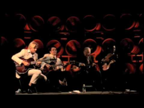 STOMPIN' at the SAVOY Andreas Oberg Howard Alden Bucky Pizzarelli