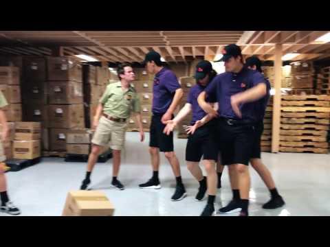 FedEx VS. UPS Dance Battle | The Williams Fam x David Moore x Josh Killacky