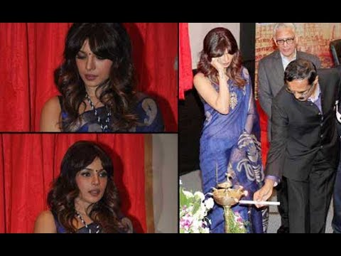 Priyanka Chopra Inaugurates Cancer Center In Her Father's Memory !