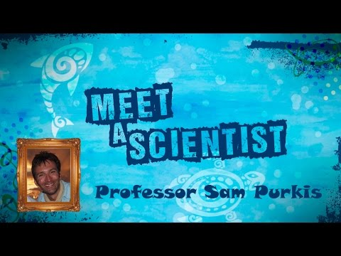 Meet a Scientist: Professor Sam Purkis