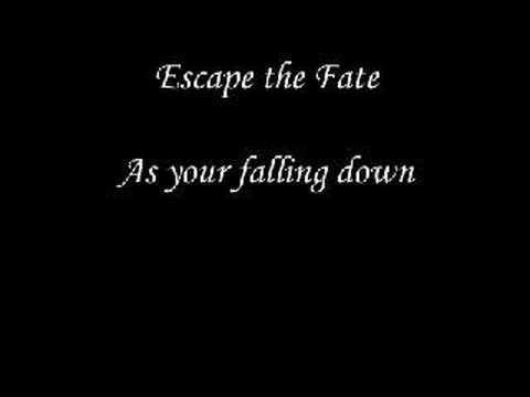 Escape The Fate - As You're Falling down - YouTube