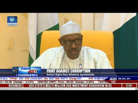 Buhari Signs Extradition Treaty On Anti-Corruption War, Others | News Across Nigeria |