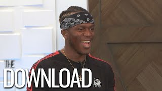 KSI Calls Logan Paul an 'Idiot' Ahead of Their Boxing Rematch | The Download