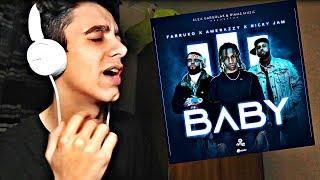 ReacciÓn Baby Nicky Jam X Farruko X Amenazzy Audio Oficial