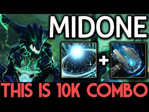 MIDONE Dota 2 [Outworld Devourer] This is 10k MMR Combo