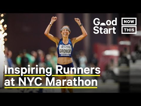 TCS NYC Marathon Runners Inspire With Dedication to Sport and Their Families | Good Start | NowThis