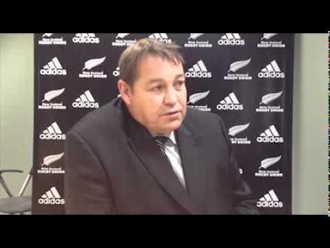 Steve Hansen announced as All Blacks coach