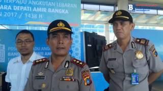 Polres Siiapkan 25 Personil di Pos Pengamanan di Bandara