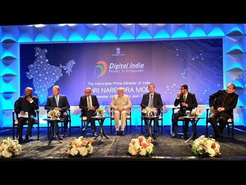 Live: Narendra Modi's Speech in Silicon Valley for Digital India