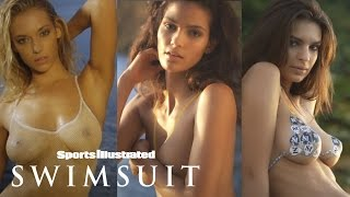 Emily Ratajkowski, Hannah Ferguson & More Strip Down For Body Painting | Sports Illustrated Swimsuit