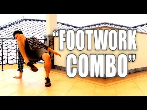 Bboy Tutorial I How To Footwork Combo I video