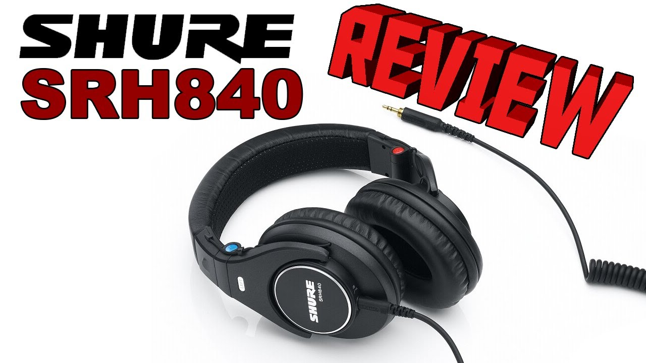 Shure SRH840 Professional Studio Monitoring Headphones ...