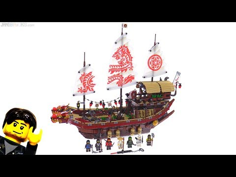 LEGO Ninjago Movie Destiny's Bounty review! 70618