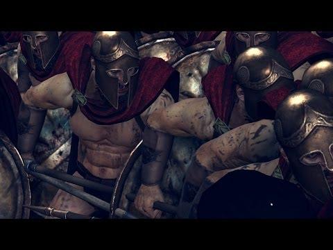Rome 2 Total War The 300 Vs The Immortals !!!! video