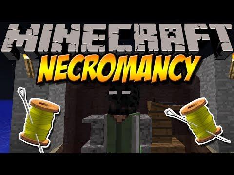 TOTE ZUM LEBEN ERWECKEN   Necromancy Mod   Minecraft Mod Review [DEUTSCH]