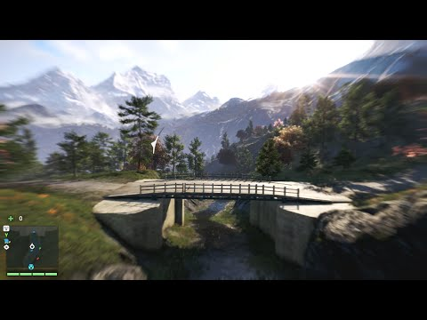 Far Cry 4 Awesome Wingsuit Jump Location Under 3 Bridges From Waterfall