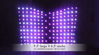 CVL ENTERTAINMENT - Chauvet Motion Drape DEMO