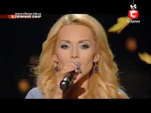 Aida Nikolaychuk - Lara Fabian - [ Je Suis Malade ] - [ X- Factor-3 ]