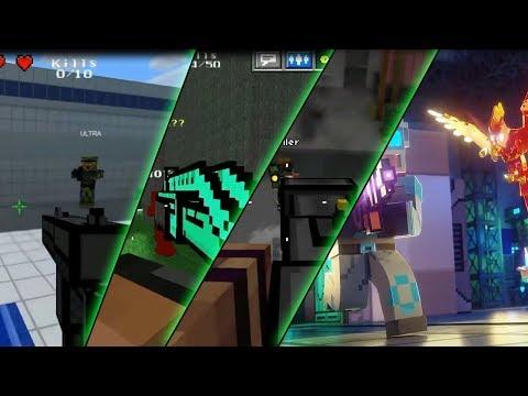 Pixel Gun 3D - Trailer EVOLUTION (2013-2017)