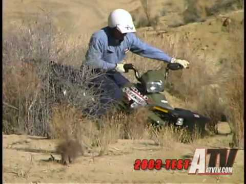 2003 Polaris Sportsman 400 Test - ATVTV Test Videos