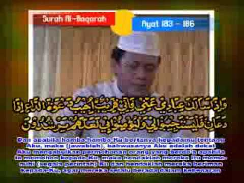 Muammar Za Al Baqarah 183 186 2 video