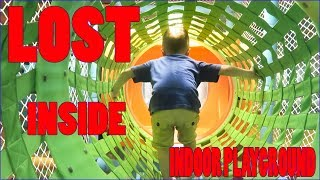 Kid gets Lost Inside FUN Indoor Playground | KANGAMOO INDOOR PLAYGROUND | The Bubbas Adventure Show