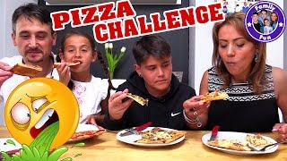 EKLIGE PIZZA CHALLENGE + Zutaten Shopping | Cihan hau rein!! | FAMILY FUN