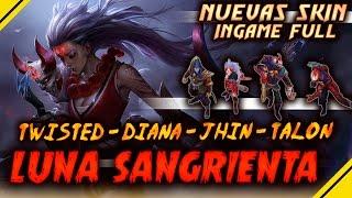 download lagu Nuevas Skin Luna Sangrienta Ingame - Diana, Jhin, Talon gratis
