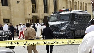 Shocking images: Destruction after suicide bomb blast in Kuwait mosque