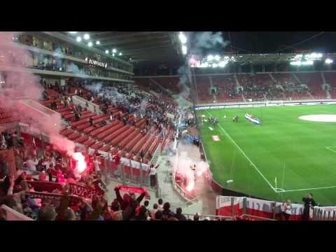 Grecja-Polska 0:0 / hymn Polski-Pireus 29.03.2011