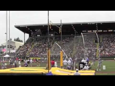 2012 Olympic Trials - Men Pole Vault Finals