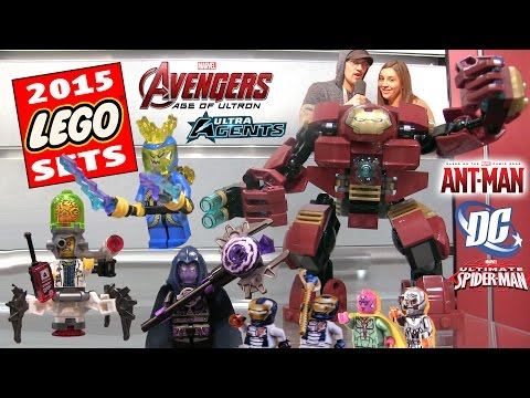 All 2015 Marvel & DC Comics Lego Sets! Avengers Age of Ultron. Ultra Agents. Super Heroes. Ant Man +
