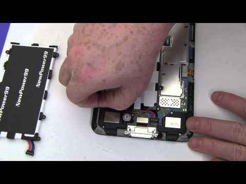 How to Replace Your Samsung Galaxy Tab 7 Plus GT-P6200 Battery